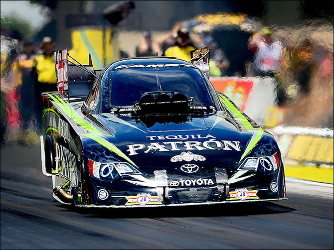 s7car Patron, a company owned by her father, is Alexis DeJoria's primary sponsor.