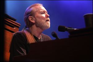 Rock legend Gregg Allman of the Allman Brothers Band.