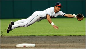 Former Cleveland Indians shortstop Omar Vizquel finished his career with 2,877 hits, 404 stolen bases, and 1,445 runs. Like Ozzie Smith, who already is in the hall, Vizquel has strong credentials as a defensive shortstop.