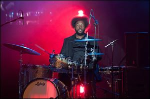 Questlove performs at the BlackBerry Z10 Launch Event at Best Buy Theater in New York City in March.