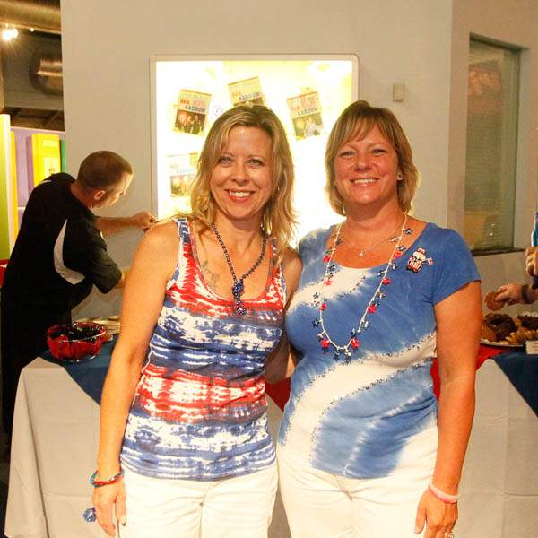 Becki-Sepesy-left-and-Maria-Bronson-right-during-an-Independence-Day-celebration-at-the-Imagination-Station-on-July-4-2013