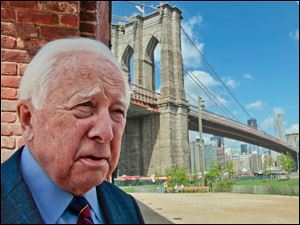 Author David McCullough, two-t