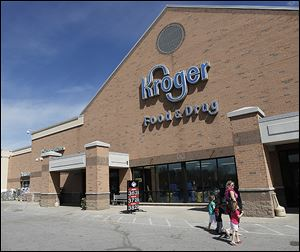 The Kroger store in Lambertville is one of what will be 2,631 supermarkets with 368,300 workers after the supermarket giant completes its acquisition of Harris Teeter Supermarkets Inc.