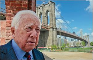 Author David McCullough, two-time Pulitzer Prize winner for books