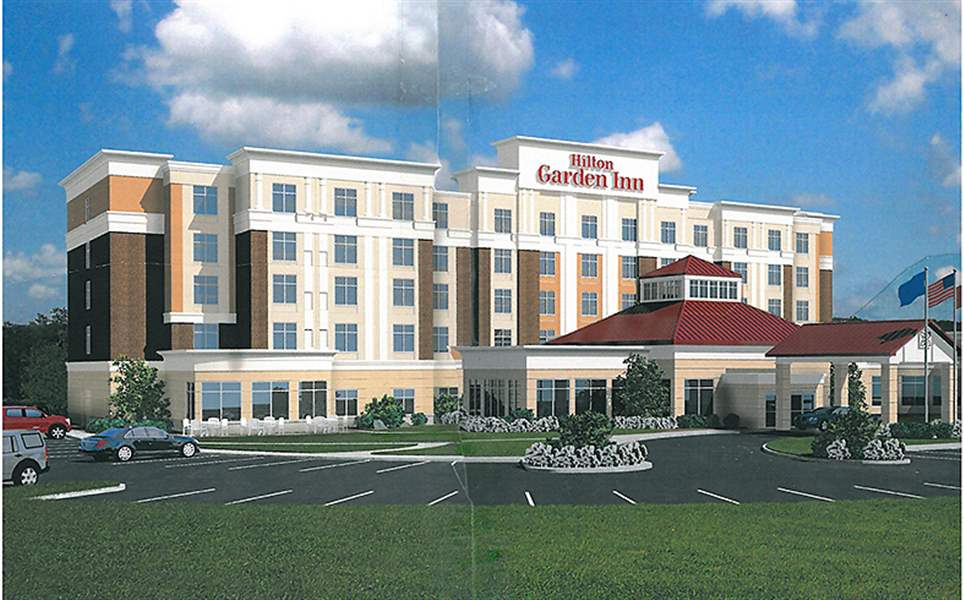 An-artist-rendering-shows-the-planned-Hilton-Garde