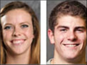 Cheyenne Cousineau and David Colturi will compete in the FINA World Aquatics Championships in Barcelona beginning July 19.