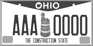 Don Ostapowicz of Akron thinks this Ohio license plate design would put all others over a barrel.