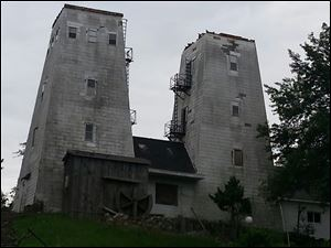 The tops of the Irish Hills towers were removed this week  to stabilize the structures. The landmarks have drawn visitors for viewing the landscape.