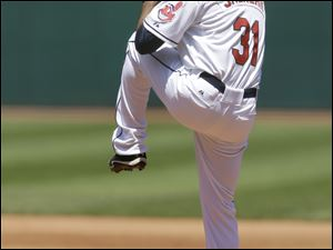 Cleveland Indians starting pitcher Danny Salazar pitched six innings in the Tribe's 4-2 win.