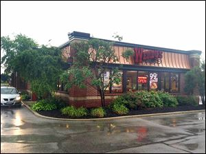 Wendy's at 26630 Dixie Highway in Perrysburg is the first such restaurant in the Toledo area to be getting a new company design.