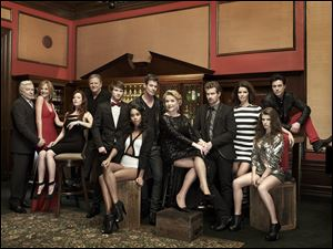 The cast of 'One Life To Live.'