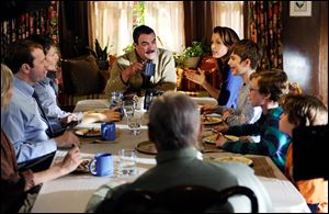 The Reagan family dining room as see on Blue Bloods.