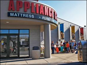 The Appliance Center in Maumee.