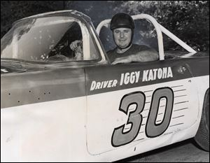 Legendary ARCA driver Iggy Katona considered Toledo Speedway his home track despite living 45 miles away in Willis, Michigan.