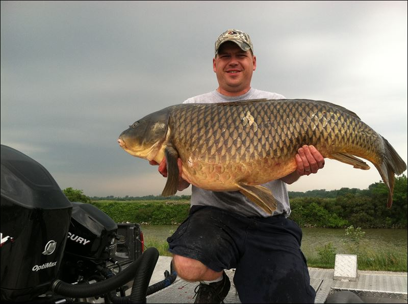 Record fish really a shared trophy toledo blade for Kansas fish records