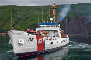 The crew of the Coast Guard cutter Storis will celebrate their ship's 63 years of service on Sept. 30. The Storis was built by the Toledo Shipbuilding Company. It was commissioned in 1942.