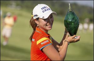 Hee Young Park of South Korea won the Manulife Financial LPGA Classic.