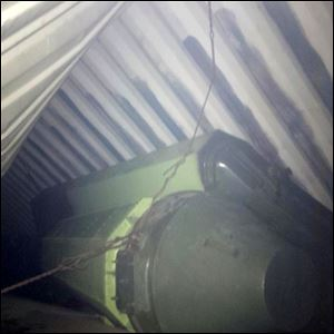 This is a picture Panama's President Ricardo Martinelli posted on his twitter account today showing what he said officials believe is sophisticated missile equipment found in containers of sugar aboard a North Korean-flagged ship traveling from Cuba.