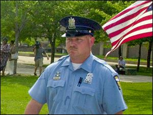 File photo of former Officer Keith Carr