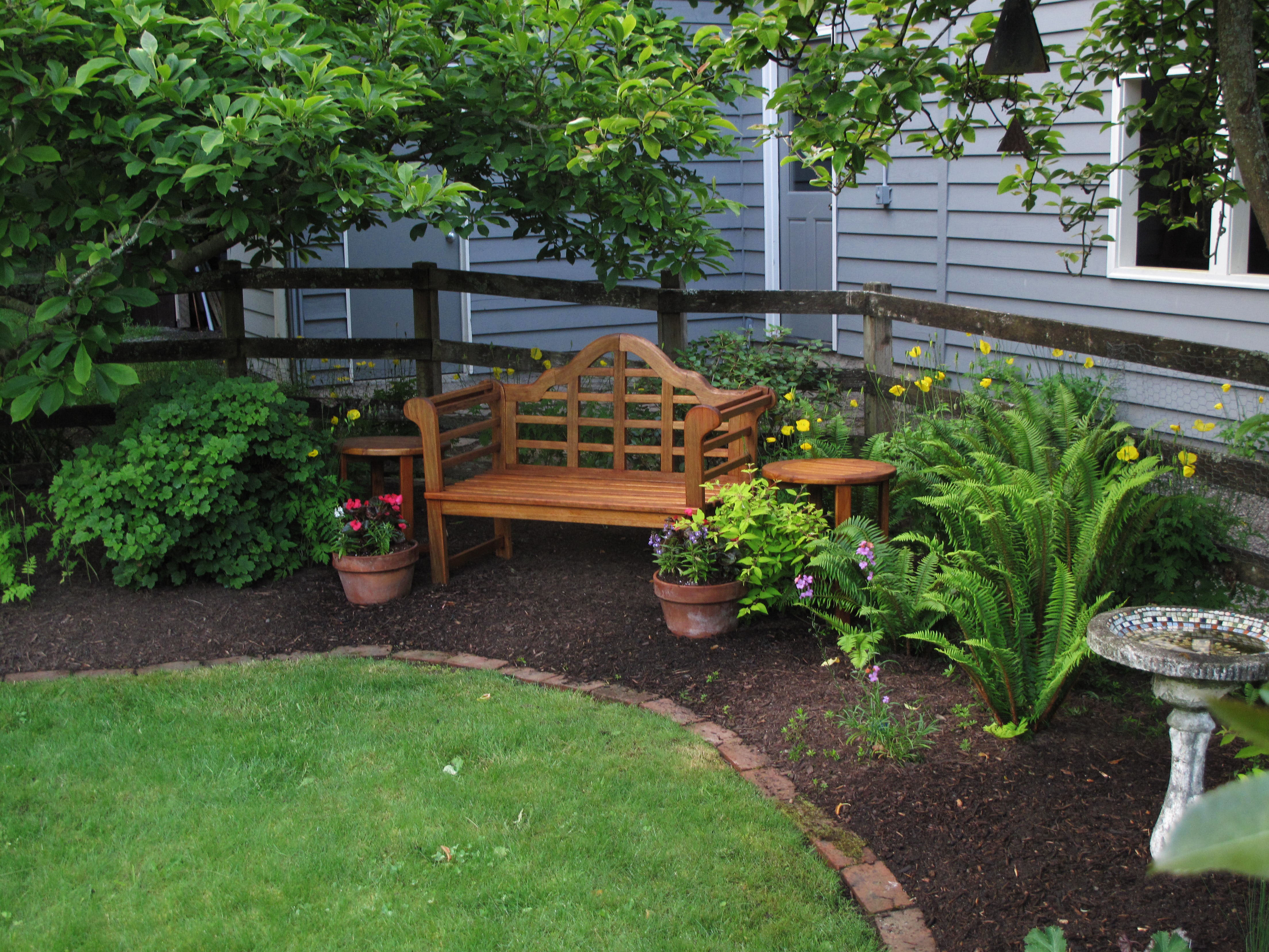 Smaller lawns mean less watering, fuel, noise, care — and ... on Turf Patio Ideas id=49073