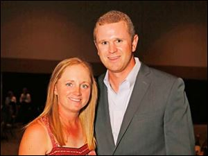LPGA golfer Stacy Lewis and boyfriend Stephen Cornillie.