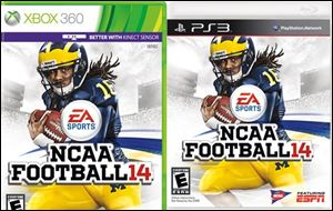 NCAA Football 14 for Xbox 360 and PS3 from EA Sports.