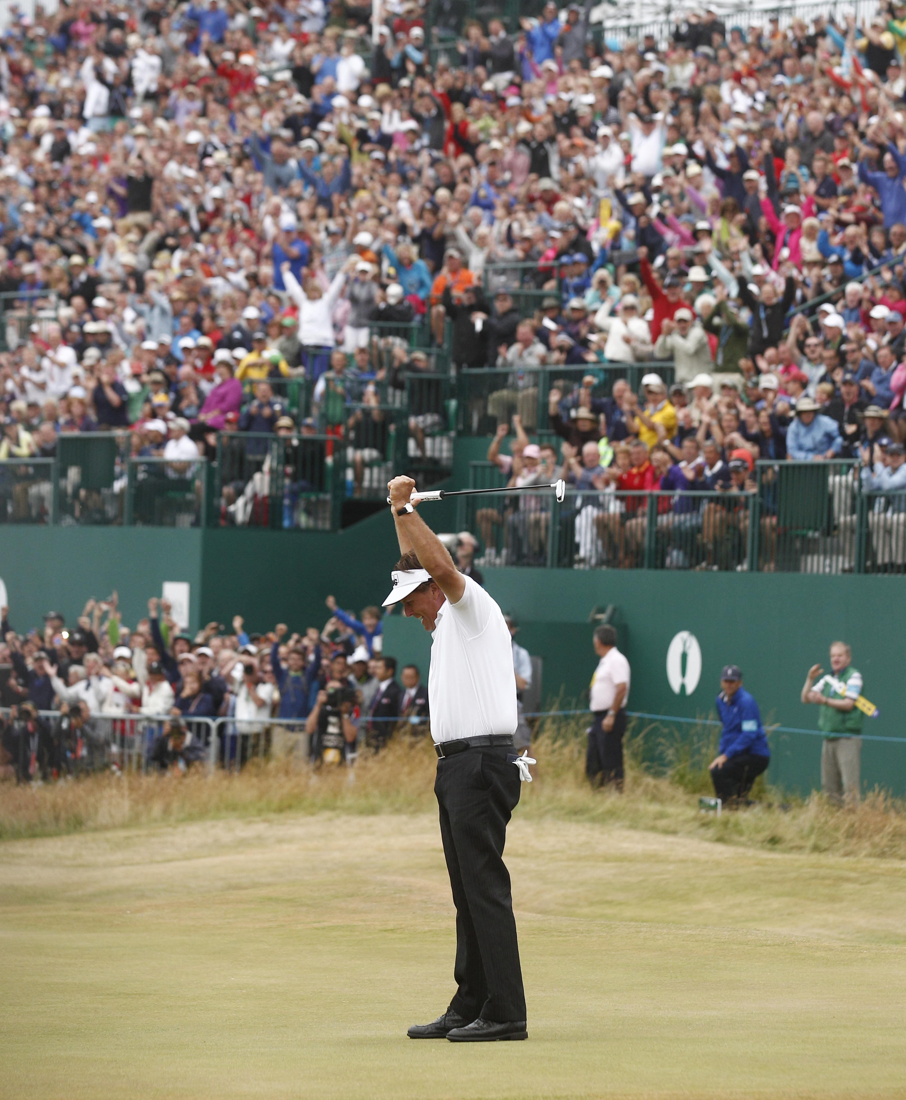 phil mickelson wins british open for fifth major golf