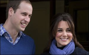 Palace officials say Prince William's wife, Kate, hasgiven birth to a baby boy.