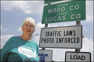 Oregon resident Marge Brown has traveled to every one of the United States' 3,143 counties. She is vice president of the Extra Miler Club, a national movement.