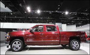 Data from the Toledo Auto Dealers Association list the Chevy Silverado as the top-selling truck in Lucas and Wood counties during the first 6 months of 2013.  The top-selling SUV was the Ford Escape.
