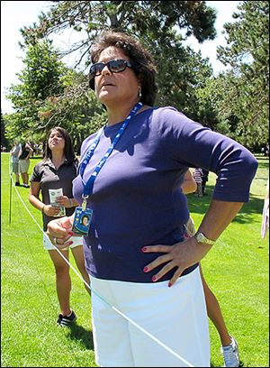 Golf legend Nancy Lopez could be one of the LPGA's star attractions for a senior-tour stop that could be held before the next Marathon Classic.