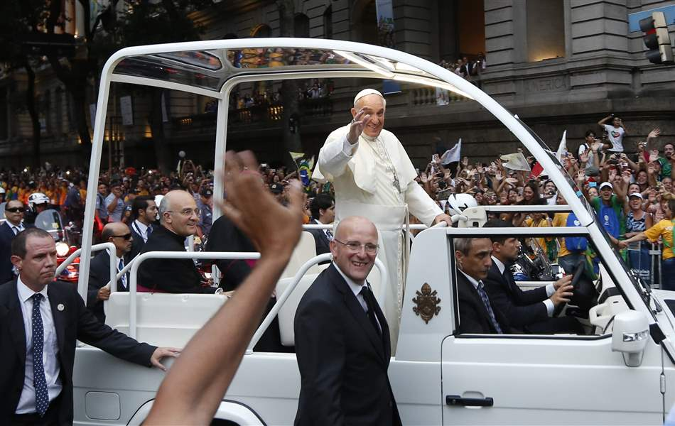 APTOPIX-Brazil-Pope-World-Youth-Day