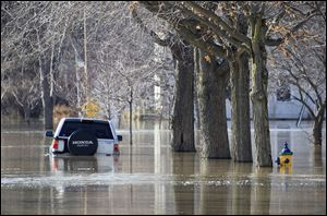 A Blanchard River flood-mitigation plan that will cost more bu