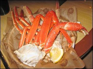 Hollywood Casino Epic Buffet crab legs