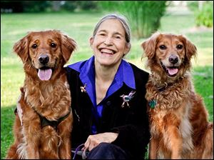 Jane Miller, author of 'Healing Companions: Ordinary Dogs and Their Extraordinary Power To Transform Lives,' will give presentations at the University of Toledo on Saturday and Aug. 10.
