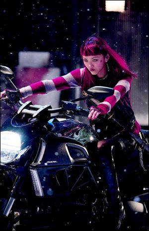 Yukio, played by Rila Fukushima, is hell on wheels.