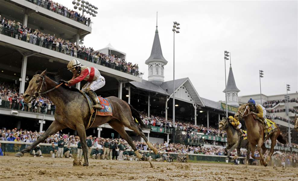 APTOPIX-Kentucky-Derby-Horse-Racing