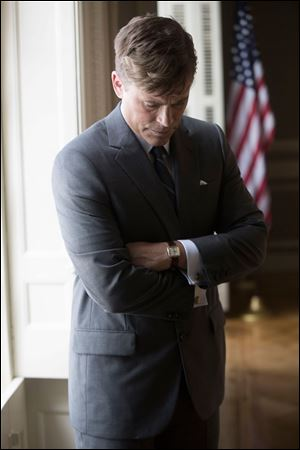 Rob Lowe portrays President John F. Kennedy in the National Geographic Channel's 'Killing Kennedy.' The movie, based on the best-selling book by Bill O'Reilly, will air on Nat Geo in November.