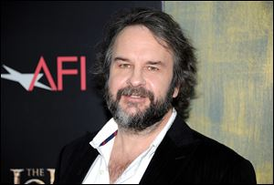 Writer and director Peter Jackson attends the premiere of