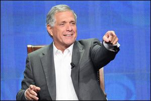 This publicity image released by CBS shows Leslie Moonves, President and Chief Executive Officer for CBS Corpo