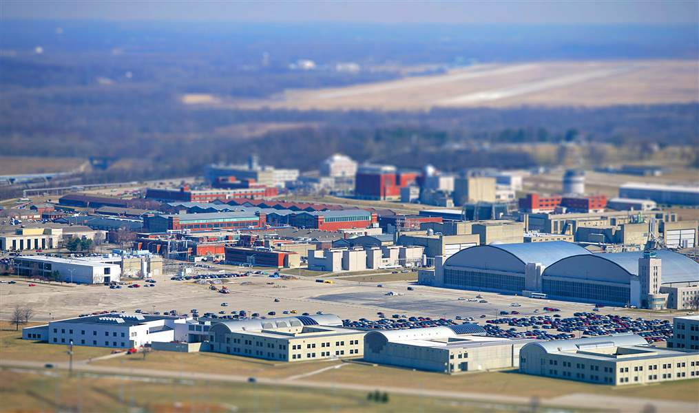 Aerial-view-of-Wright-Patterson-Air-Force-Base-near-Da
