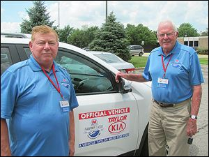 Jim Zywocki, golfers transportation chairman? and Roger Rummel.