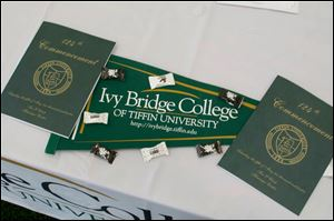 Ivy Bridge College enrolled more than 2,000 of Tiffin University's 6,900 students last year.