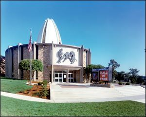 Pro Football Hall of Fame in Canton, Ohio.
