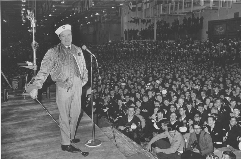 Image result for bob hope uso wwii