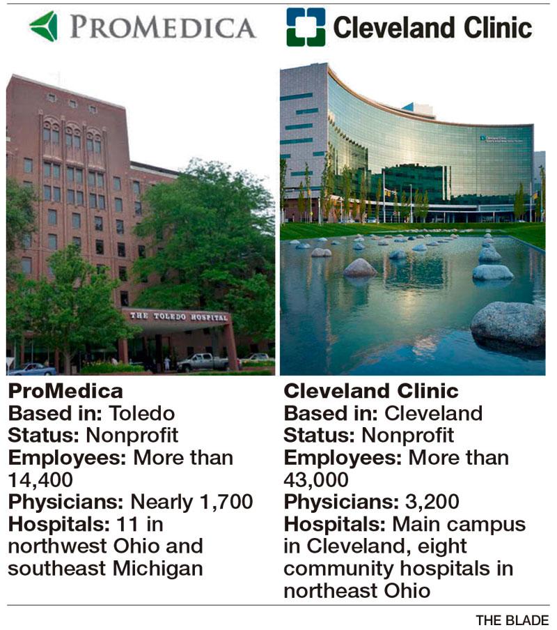 ProMedica, Cleveland Clinic Team Up