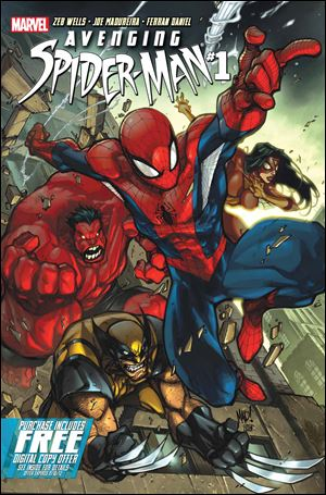 'Avenging Spider-Man #1' by Marvel Comics.