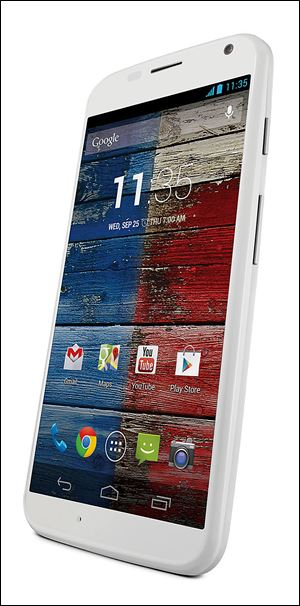 Moto X in white unveiled today by Motorola, a Google company. Designed by you, responds to you and assembled in the USA.