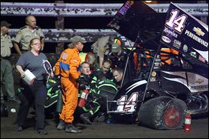 Tony Stewart's goal of competing in more than 100 races this year ended Aug. 5 with his sprint car accident in Oskaloosa, Iowa.