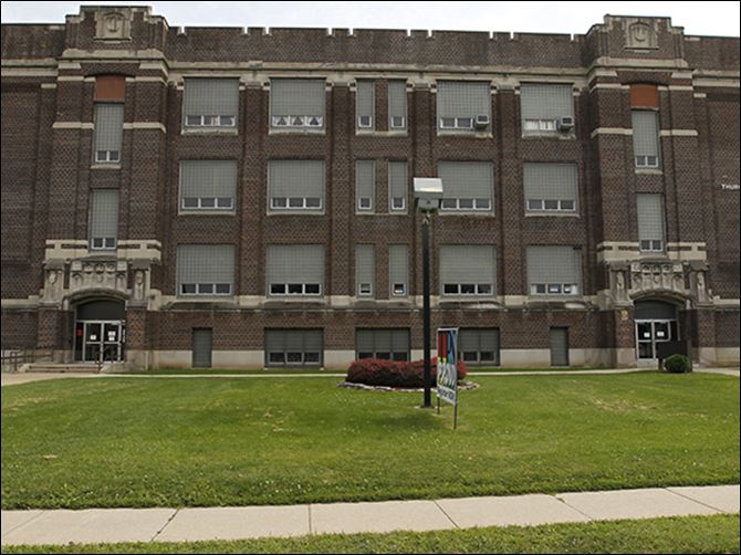 n3marshall The Toledo Board of Education is considering moving its offices from the  Thurgood Marshall Building to the former DeVilbiss High, which houses the Toledo Technology Academy.